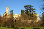 The Tour Fenestrelle and bishopric in Uzes